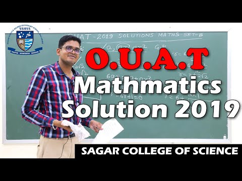 Discussions on OUAT 2019 MATHEMATICS