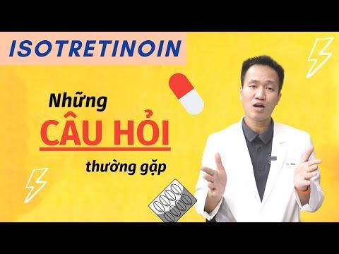 ISOTRETINOIN trị mụn   Bạn nên làm GÌ với quá nhiều tác dụng PHỤ   Dr Hiếu