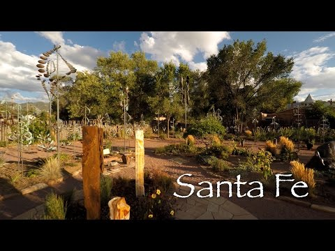 Santa Fe, NM by Drone in 4K