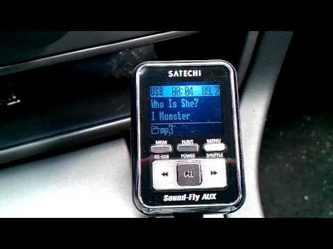 Satechi FM transmitter Sound-Fly AUX RDS