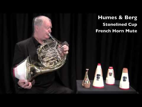 Humes & Berg Stonelined Cup French Horn Mute (#123)