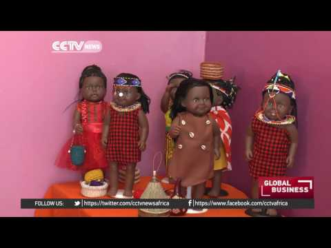 Kenyan designs Africanised doll for children on the continent