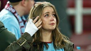 أجمل اللحظات الانسانية في كرة القدم   جعلت الجماهير تنهار في البكاء..!!