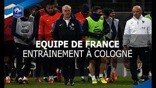 Equipe de France : Dernier entrainement avant Allemagne-France, reportage I FFF 2017