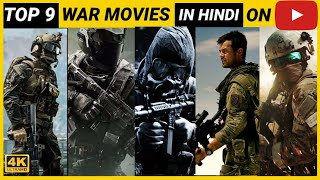 Top 9 best Army Full Movies in Hindi dubbed available on youtube | Links👇👇