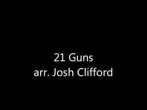 21 GunsClarinet Arrangement