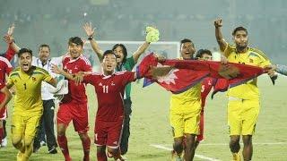 NEPAL (2) vs (1) INDIA : SAG 2016 MEN'S FOOTBALL FINAL : FULL HIGHLIGHTS