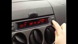 Mazda 6 trick ! Aktywacja trip computer !