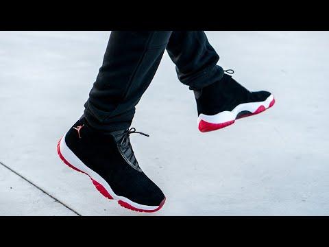 best sneakers c110e 60cd9 Onfeet: Air Jordan Future Bred   Grailify