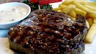 Juicy Steak Legend Holycow! Melting Oil