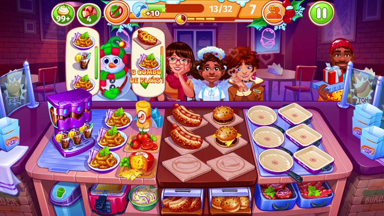Download ⭐️⭐️ COOKING CRAZE FRENCH ⭐️⭐️JEU AU TOP 👌