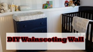 Diy: Wainscoting Accent Wall In Hd