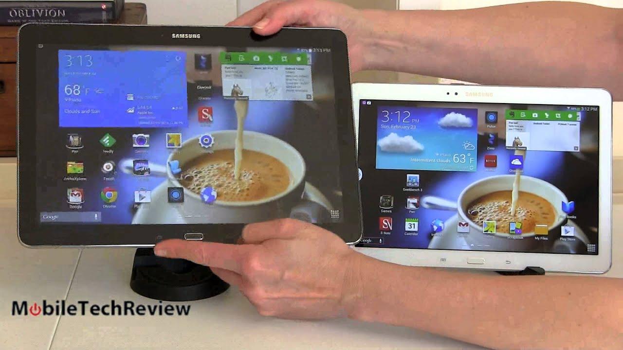 Samsung Galaxy Note Pro 12.2 vs. Samsung Galaxy Note 10.1 ...