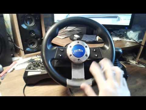 видео: Бюджетный руль oklick w-3