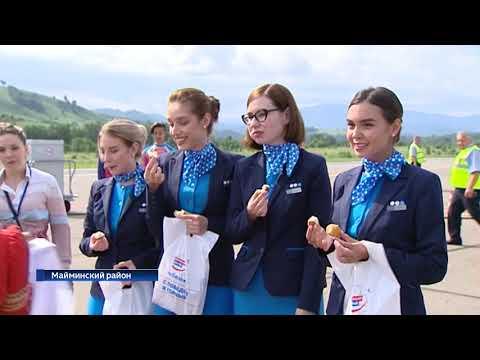 """Авиакомпания """"Победа"""" совершила первый рейс из Москвы в Горно Алтайск"""