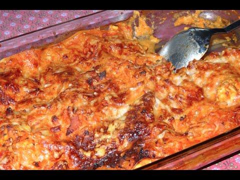 lasagnes-au-poulet-&-parmesan-facile-à-faire---lasagne-goûteuse-avec-blanc-de-poulet---recette-#94