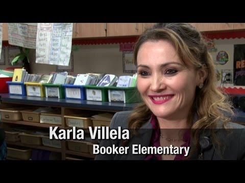 Karla Villela - Booker Elementary School