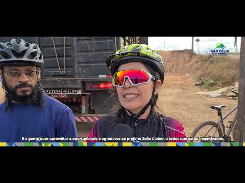 São Félix do Xingu sedia 1ª Mini Maratona de Ciclismo.