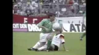 Germany v Northern Ireland 2nd JUN 1992 mit Interviews