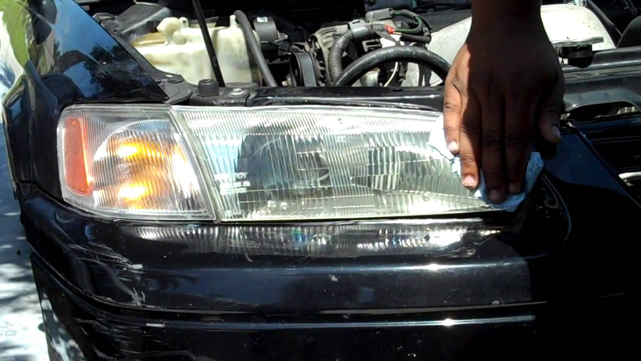 How To Clean 1999 Toyota Camry Headlights Mothers Headlight Cleaner You