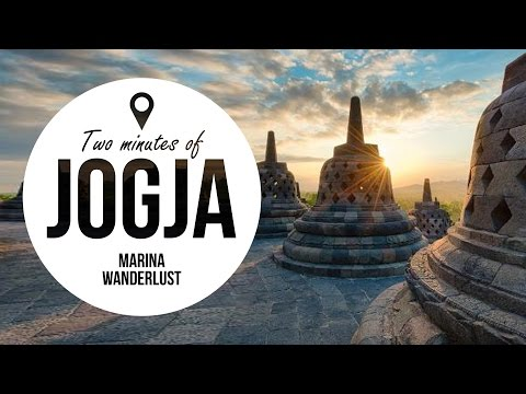 JOGJA / Yogyakarta Travel Guide + Attractions Map