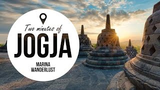 Yogyakarta Indonesia Attractions | Travel Guide in 2 Minutes | Map Inside Video