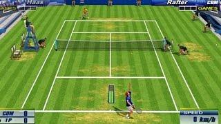 Virtua Tennis 2 PS2 PCSX2 Widescreen 60fps HD (Sega, 2002)