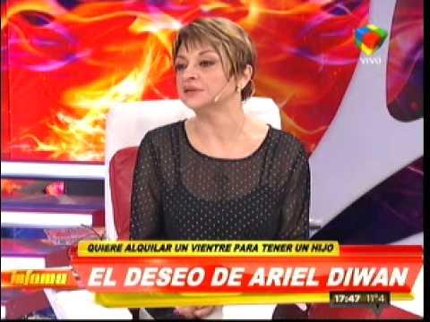 Ariel Diwan quiere alquilar un vientre para ser padre soltero