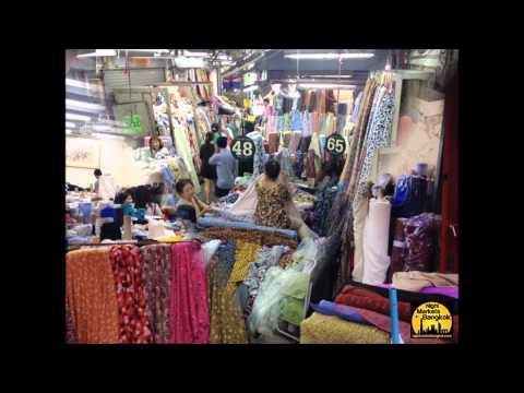 Phahurat market bangkok