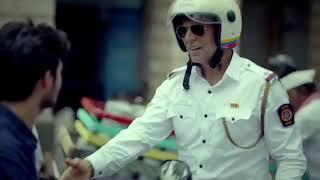 Akshay Kumar on traffic duty Mumbai Police Ye Sadak tere baap ki hai kyapart 2
