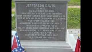 Burial place of Confederate President Jefferson Davis