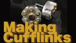 Making Cufflinks Hand Made