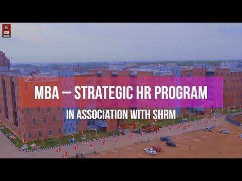 MBA Strategic Human Resource (HR) Management Program by Chandigarh