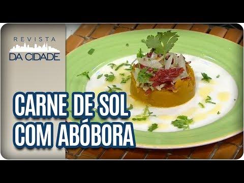 Receita De Carne De Sol Com Abóbora: Homenagem Aos Colaboradores- Revista Da Cidade (24/01/18)