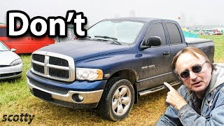 Why Not To Buy A Dodge Ram