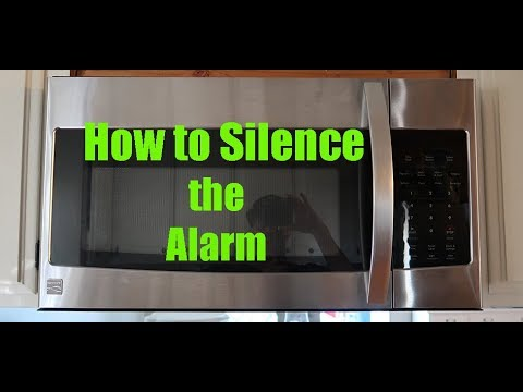 how to stop a microwave from beeping how to turn off beeping sound on a kenmore elite microwave