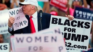 Donald Trump accused of unwanted sexual advances