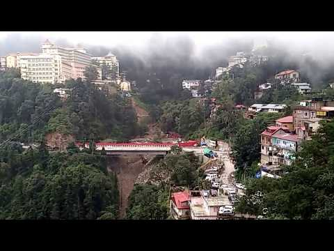 View From Auckland House School, Shimla, HP India
