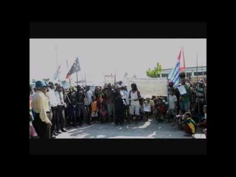 Free West Papua Campaign rally in Vanimo, PNG