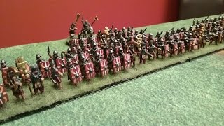 Hail Caesar Battle Report  - Imperial Romans vs Parthians 400pts (Test Game)