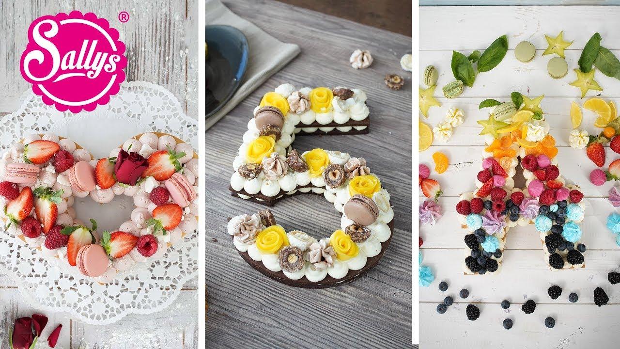 Fruchttorte / Buchstabentorte / Cream Tarte / Trendtorte 2018 / Sallys Welt