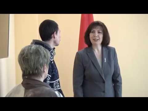 Кочанова. Прием граждан в Орше