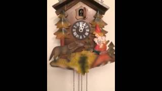 Cuckoo Clock Repair Progress