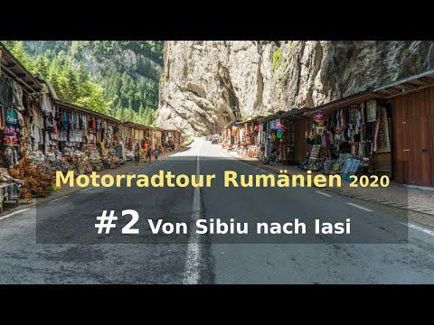 Motorradtour Rumänien 2020 #2 | Schäßburg | Bicaz-Schlucht | Iasi