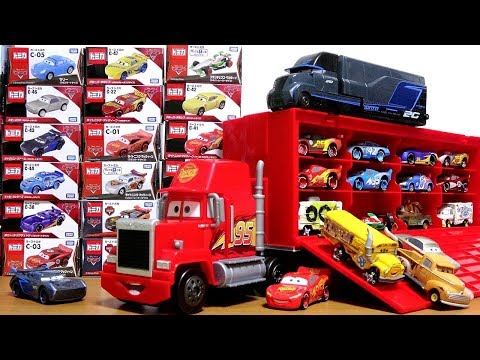 Thumbnail: Disney Pixar Cars3 Toy Movie Big Mack Truck Gale Beaufort Battle Crash Cars Tomica for kids