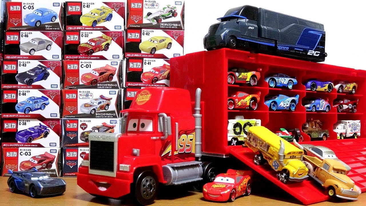 cars mack truck disney toy pixar tomica cars3 battle crash gale beaufort
