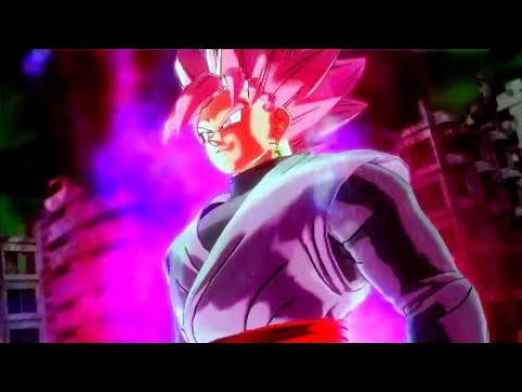 Goku's Power Is ENTIRELY My Own! Rosè Goku Black    DRAGON BALL XENOVERSE 2