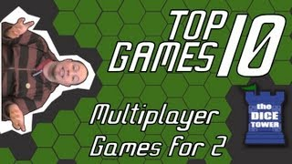 Top 10 Multiplayer Games good for Two - with Ryan Metzler