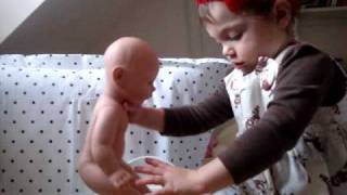 Potty Training a Baby doll