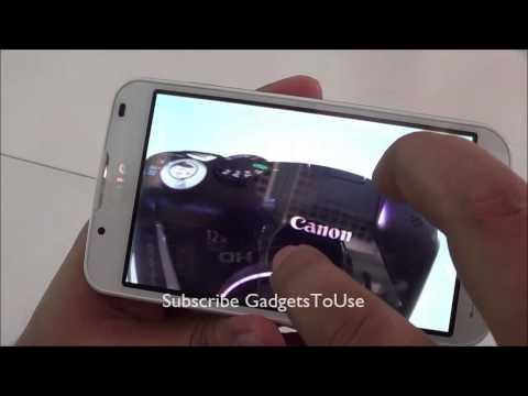 Lg Optimus L7 II Dual Initial Review HD - Camera, Display, Hardware and Software
